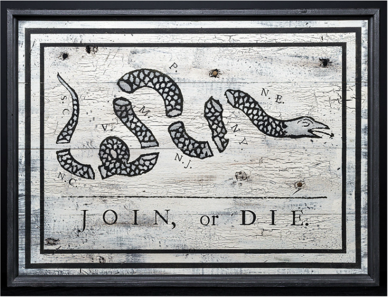 Franklins Join Or Die Philip Marc Sons Of Liberty